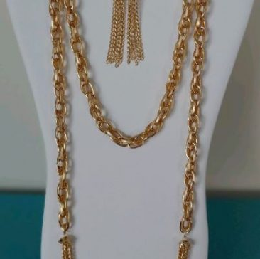 Fiesta Jewelry Booktique gold chain necklace women